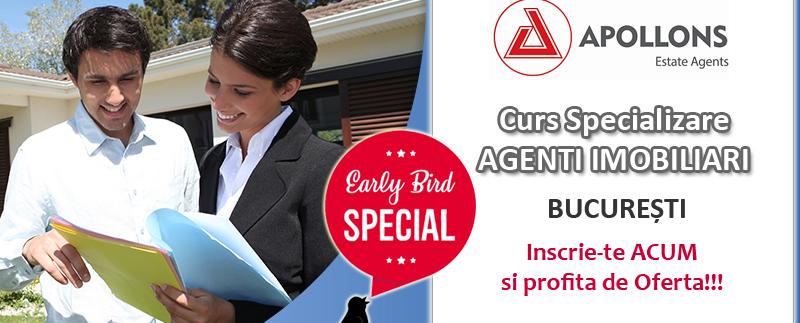 Cursuri specializare Agenti Imobiliari Bucuresti sesiunea 26-28.10.2018